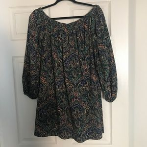 ASOS Off-shoulder Floral Dress